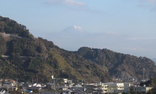 小坂からの富士山.11.12.23.