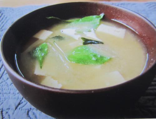 アイスプラント味噌汁.12.05.31.