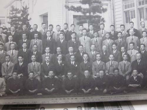 第1回日本遺伝学会集合写真