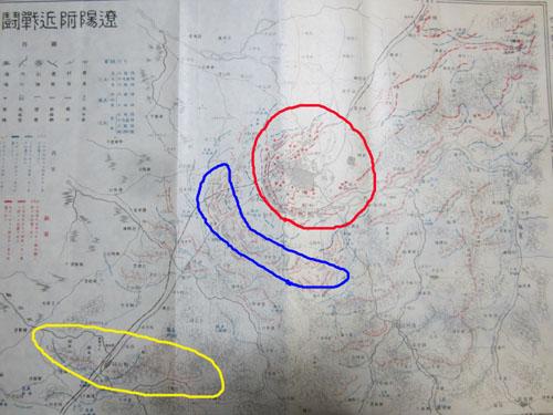 遼陽ロシア軍防御線.12.08.27.1.