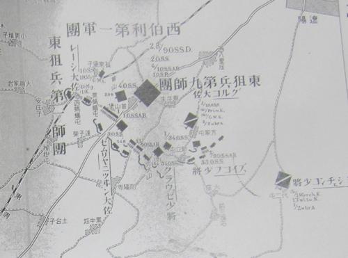 首山堡ロシア軍配置図.12.08.29.