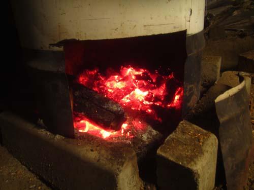 燃える薪.12.12.18.